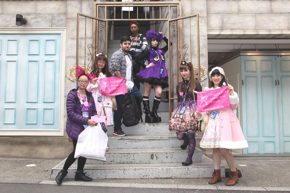 Princess-themed sweet snack and goods shop in Harajuku ...