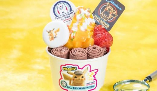 """Detective Pikachu"" ice cream!!"